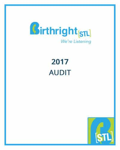 Birthright 2017 Audit