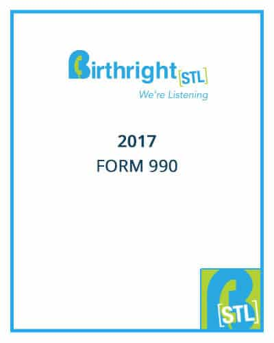 Birthright 2017 Form 990