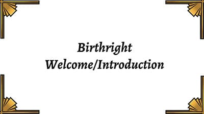 Welcome-Introduction